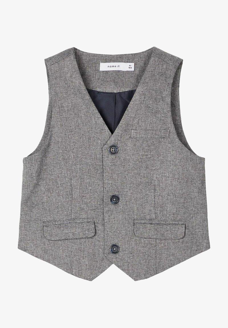 Name it - Gilet elegante - grey melange