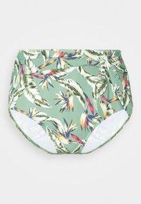 Esprit - PANAMA BEACH HIGH BRIEF - Bikini bottoms - light khaki - 5