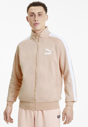 Training jacket - pink sand