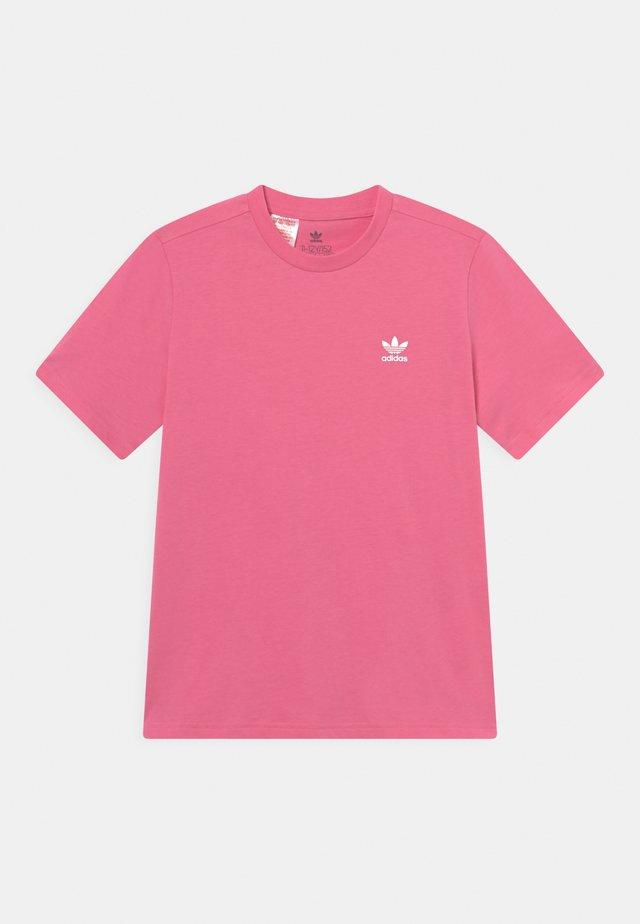 TEE UNISEX - Basic T-shirt - rose tone/white