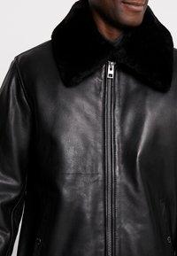 Oakwood - DADDY - Leather jacket - black - 5