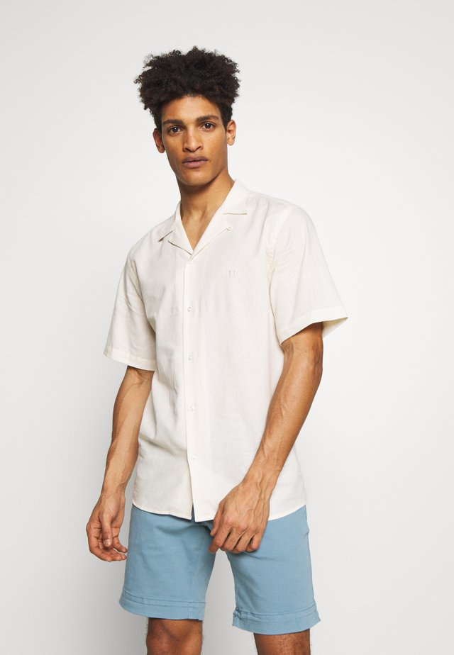 SIMON - Camisa - off white