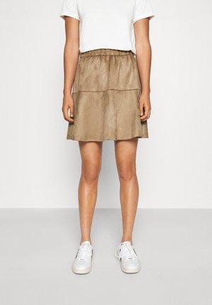 VMSUMMERMY  - A-line skirt - beige