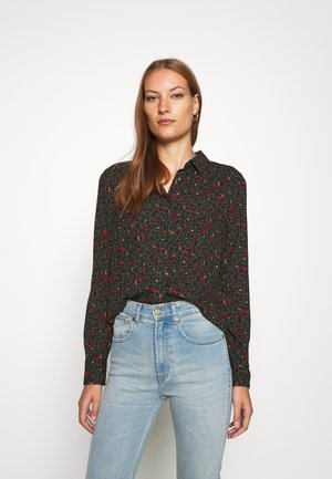 MAPLE ANIMAL - Button-down blouse - sycamore