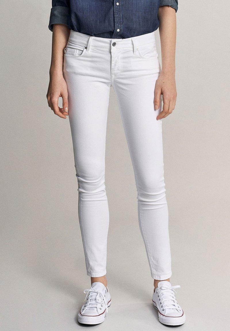 Salsa - Slim fit jeans - white