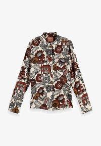 Maison Scotch - Button-down blouse - combo-a - 3