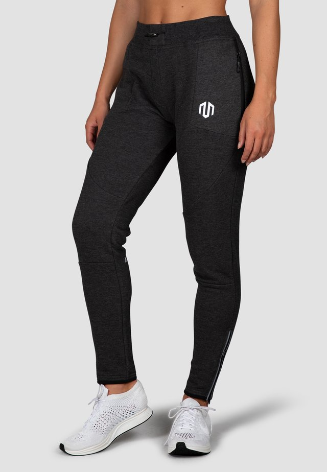 COMFY PERFORMANCE  - Tracksuit bottoms - dunkelgrau