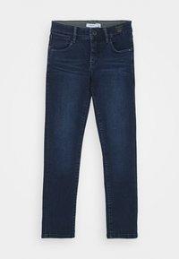 Name it - NKMSILAS TOGO 86 PANT - Straight leg jeans - dark blue denim - 0