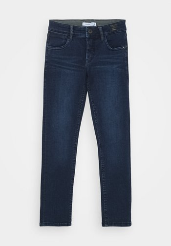 NKMSILAS TOGO 86 PANT - Straight leg jeans - dark blue denim