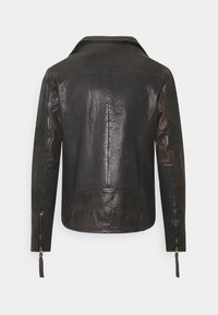 Tigha - ARNO - Leather jacket - stone grey - 1