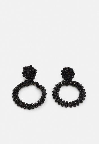 PCNOLIVIA EARRINGS KEY - Earrings - black