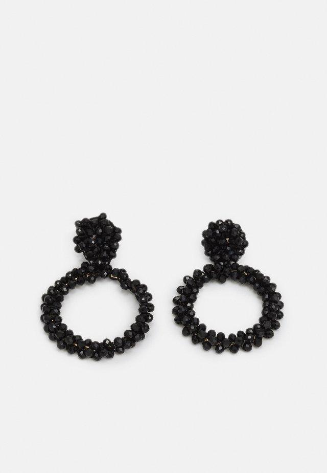 PCNOLIVIA EARRINGS KEY - Oorbellen - black
