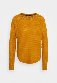 Vero Moda - VMESME SURF O NECK - Strickpullover - buckthorn brown - 3