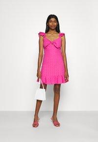 Trendyol - Day dress - pink - 1
