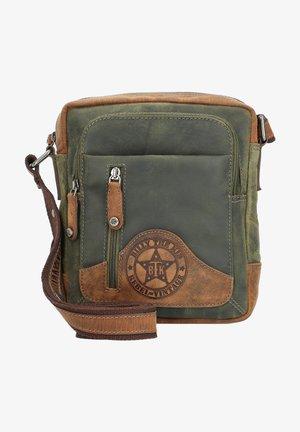 HUNTER  - Across body bag - khaki/brown