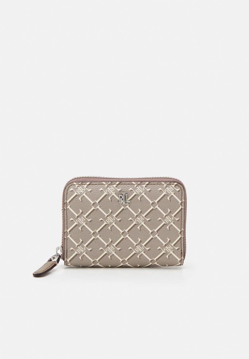 Lauren Ralph Lauren - WALLET SMALL - Peněženka - taupe heritage logo
