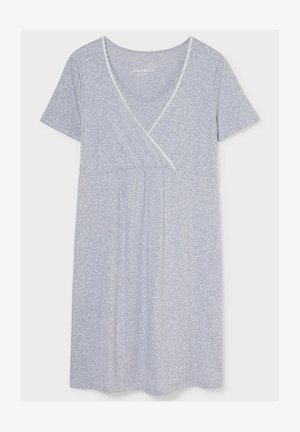 Nightie - light gray-melange