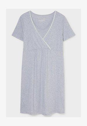 Nightie - light gray-melange