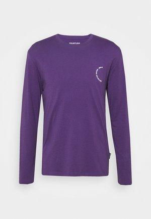 UNISEX - Langærmede T-shirts - purple