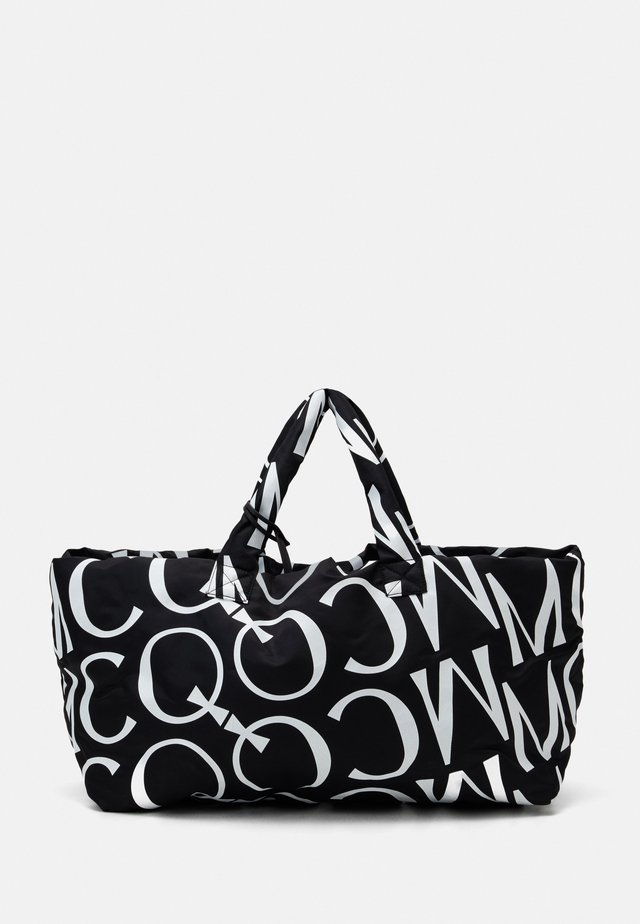 LOGO MONOGRAM - Shopping bag - black