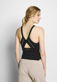 Wolf & Whistle - SPORTS BODY WITH REFLECTIVE STRIPS - Leotard - black - 2