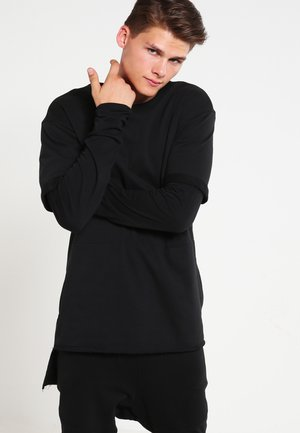 TERRY  - T-shirt à manches longues - black