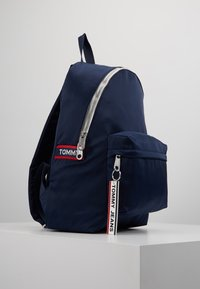 Tommy Jeans - LOGO TAPE BACKPACK - Rucksack - blue - 3