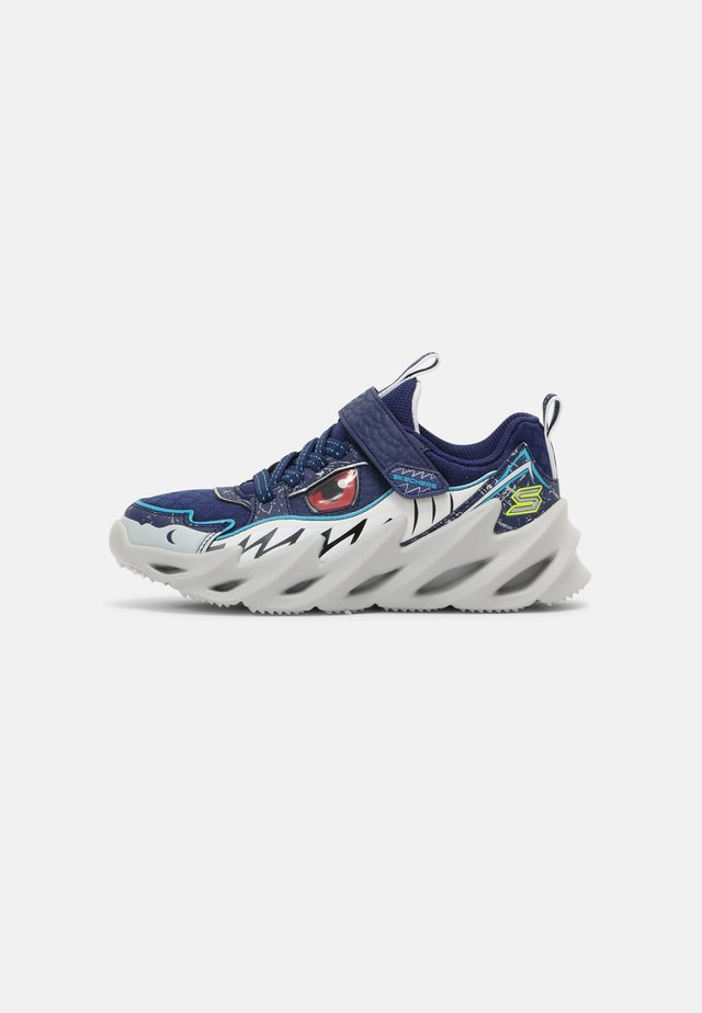 SHARK BOTS - Sneakers laag - navy/blue/red