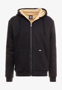 Dickies - FRENCHBURG - veste en sweat zippée - black - 3