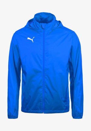 LIGA RAIN CORE - Hardshell jacket - electric blue lemonade / white