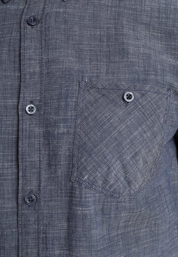 TOM TAILOR RAY SLUB FIL A FIL - Koszula - sapphire blue/granatowy Odzież Męska TVHN