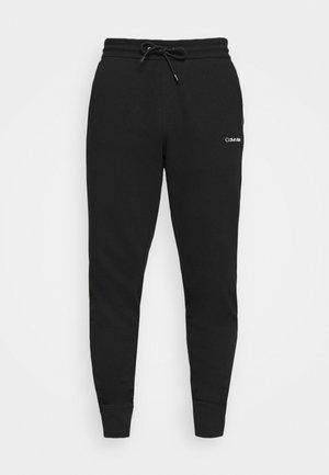 SMALL LOGO - Tracksuit bottoms - black