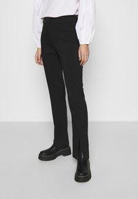 Samsøe Samsøe - MARION TROUSERS - Trousers - black - 0