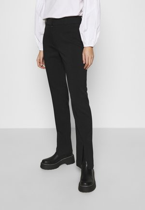 MARION TROUSERS - Bukser - black