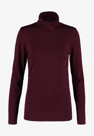 TANNER   - Bluzka z długim rękawem - dark ruby