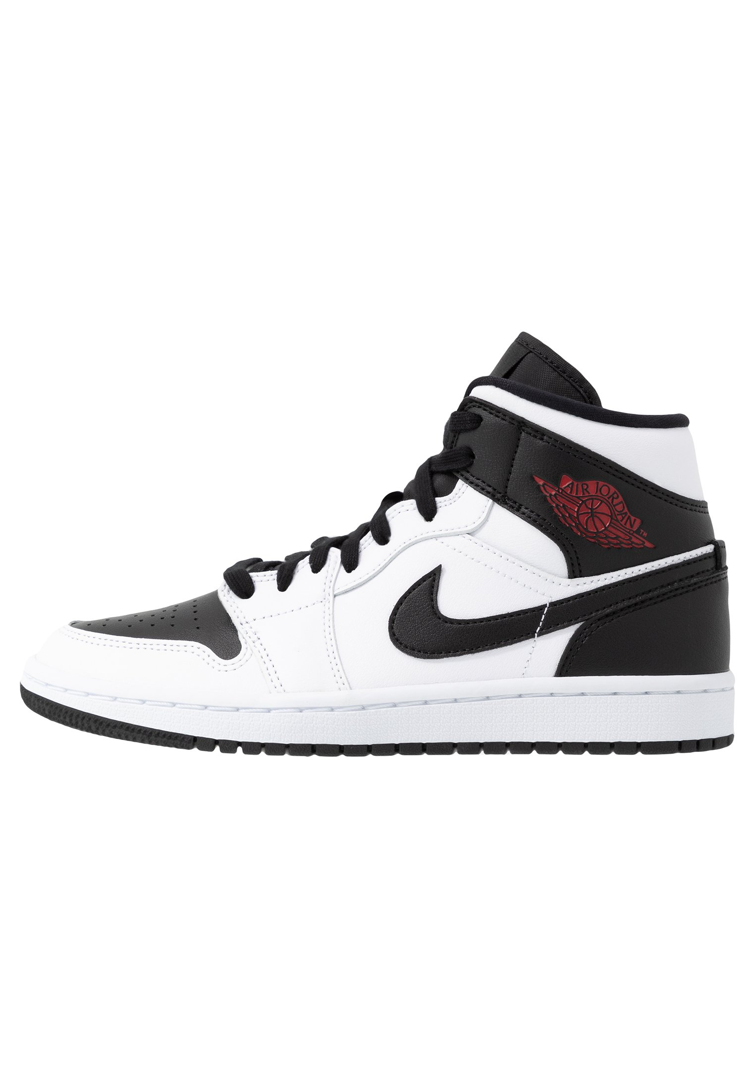 AIR 1 MID - Sneakers alte - white/gym red/black