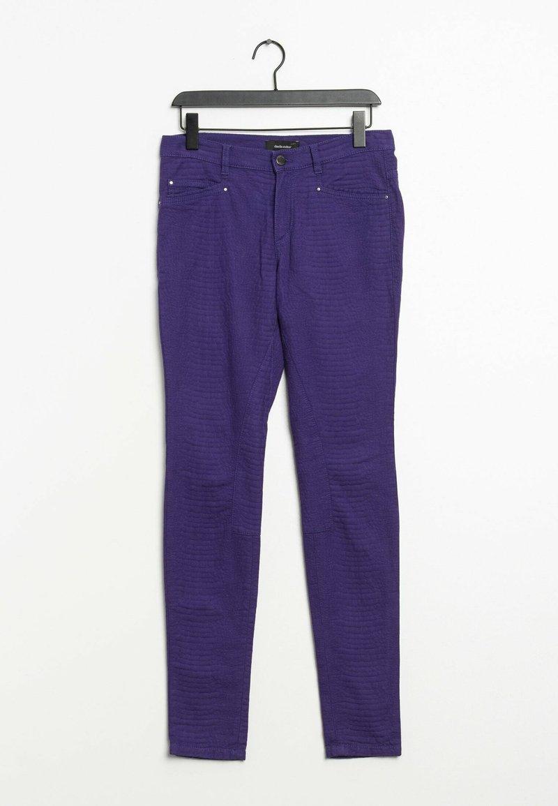 Claudia Sträter - Trousers - purple
