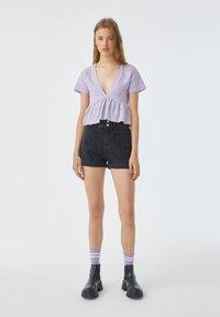 PULL&BEAR - Blouse - purple - 1
