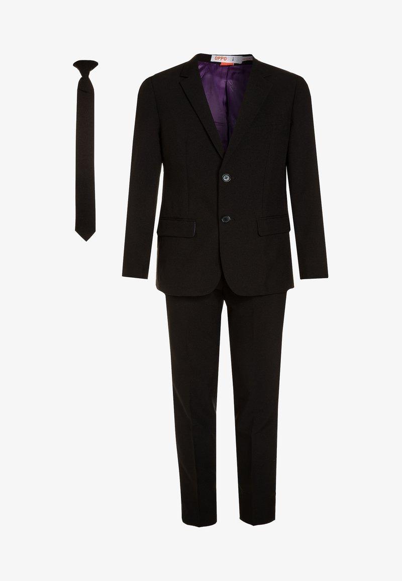 OppoSuits - TEEN BOYS KNIGHT SET - Oblek - black
