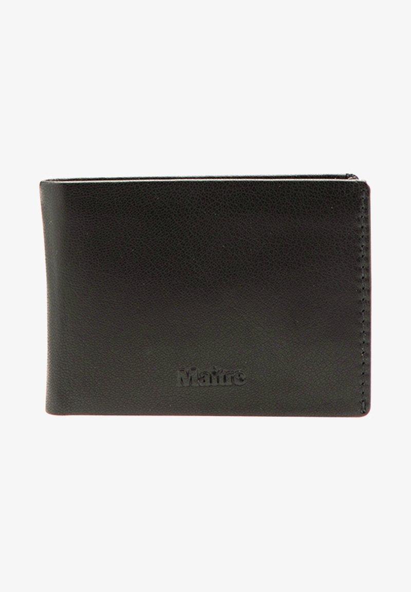 MAITRE - TRIANGOLO - Wallet - black
