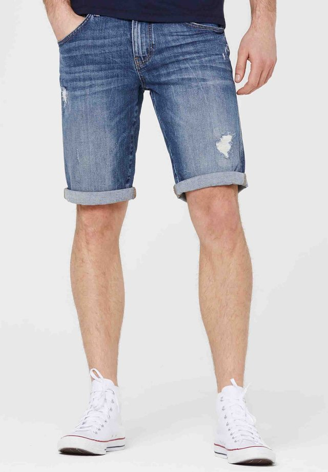 HARLEM  - Denim shorts - blue used