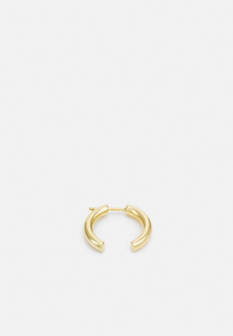 Maria Black - BROKEN 18 EARRING UNISEX - Earrings - gold-coloured