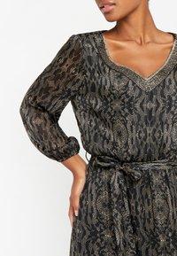 LolaLiza - LUREX - Maxi dress - black beauty - 4
