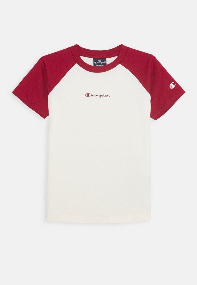 LEGACY AMERICAN CLASSICS SHORT SLEEVE - Camiseta estampada - red
