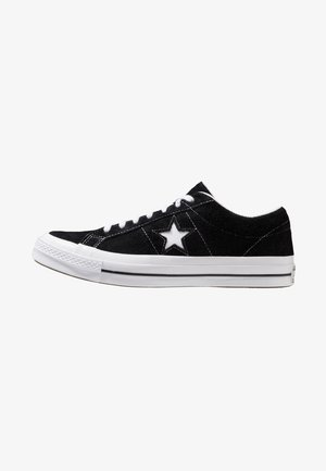 ONE STAR - Sneakersy niskie - black/white