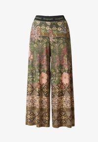 Desigual - PANT - Trousers - green - 4