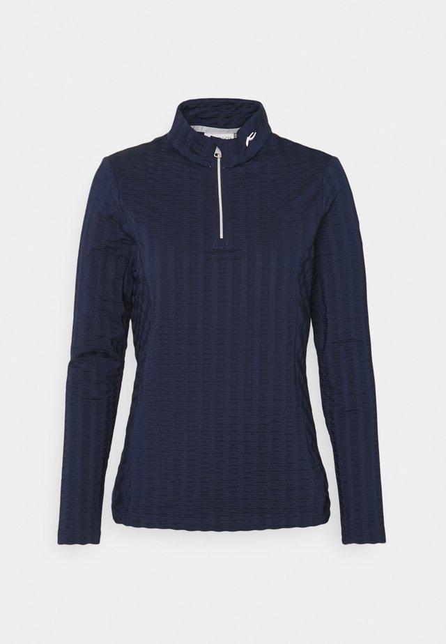 SENSE  - Long sleeved top - atlanta blue
