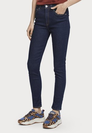 HAUT - FRENCH BLUE | HIGH-RISE SKINNY FIT JEANS - Jeans Skinny Fit - french blue