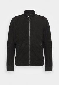 Strellson - OSCO - Leather jacket - black - 7