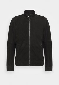 OSCO - Kožená bunda - black